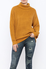 Cotton Candy Golden Yellow Sweater - Product Mini Image