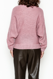 Cotton Candy Long Sleeve Sweater - Back cropped