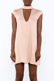 Cotton Candy Lucky Peach Dress - Side cropped