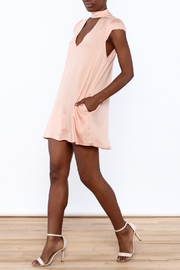 Cotton Candy Lucky Peach Dress - Front full body