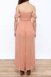 Cotton Candy Penny Lane Jumpsuit - Back cropped