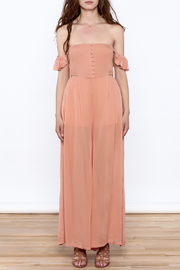 Cotton Candy Penny Lane Jumpsuit - Front cropped