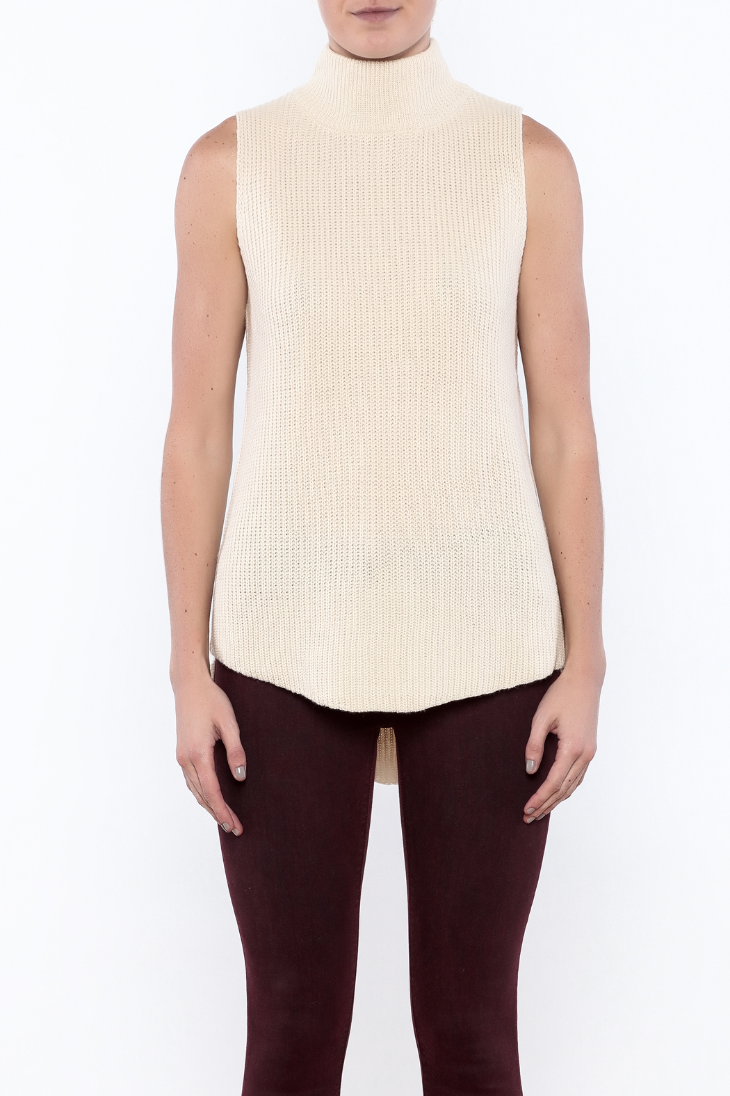 Cotton candy sleeveless mock sweater from new jersey by for Sleeveless mock turtleneck shirts
