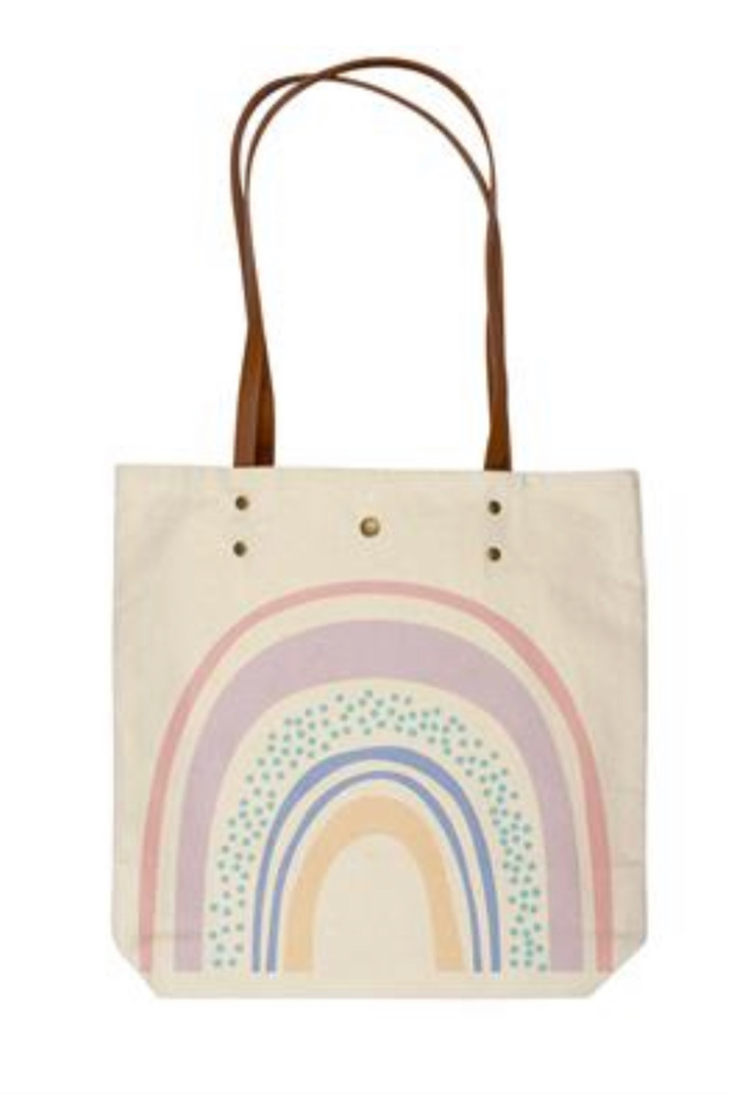 Karma Cotton Canvas Tote Bag - Front Cropped Image
