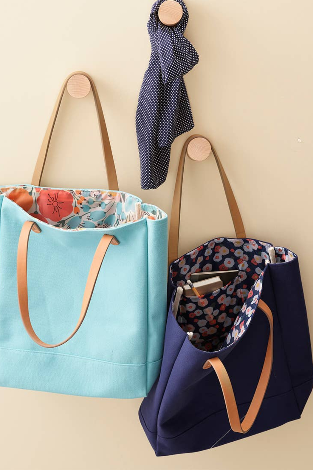 Boon Supply Cotton Canvas Totes - Front Full Image
