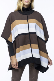 Tyler Boe Cotton/Cashmere Poncho - Front cropped