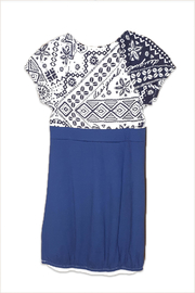 DESIGUAL Cotton Charleston Dress - Front full body
