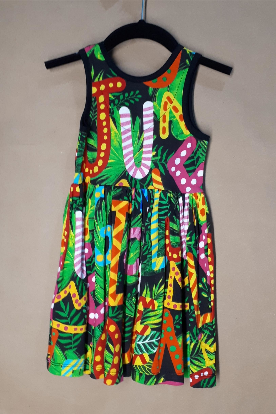 DESIGUAL Cotton Charlotte Dress - Front Full Image