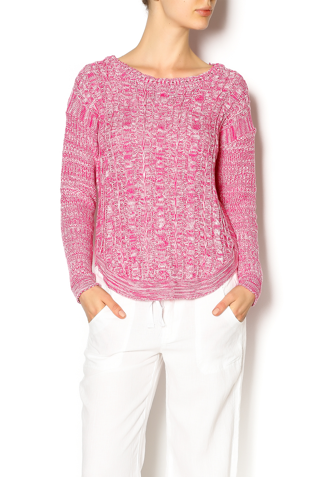 Cotton Country Pink Washable Cotton Sweater from Montana by ...