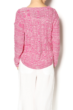 Cotton Country Pink Washable Cotton Sweater - Alternate List Image