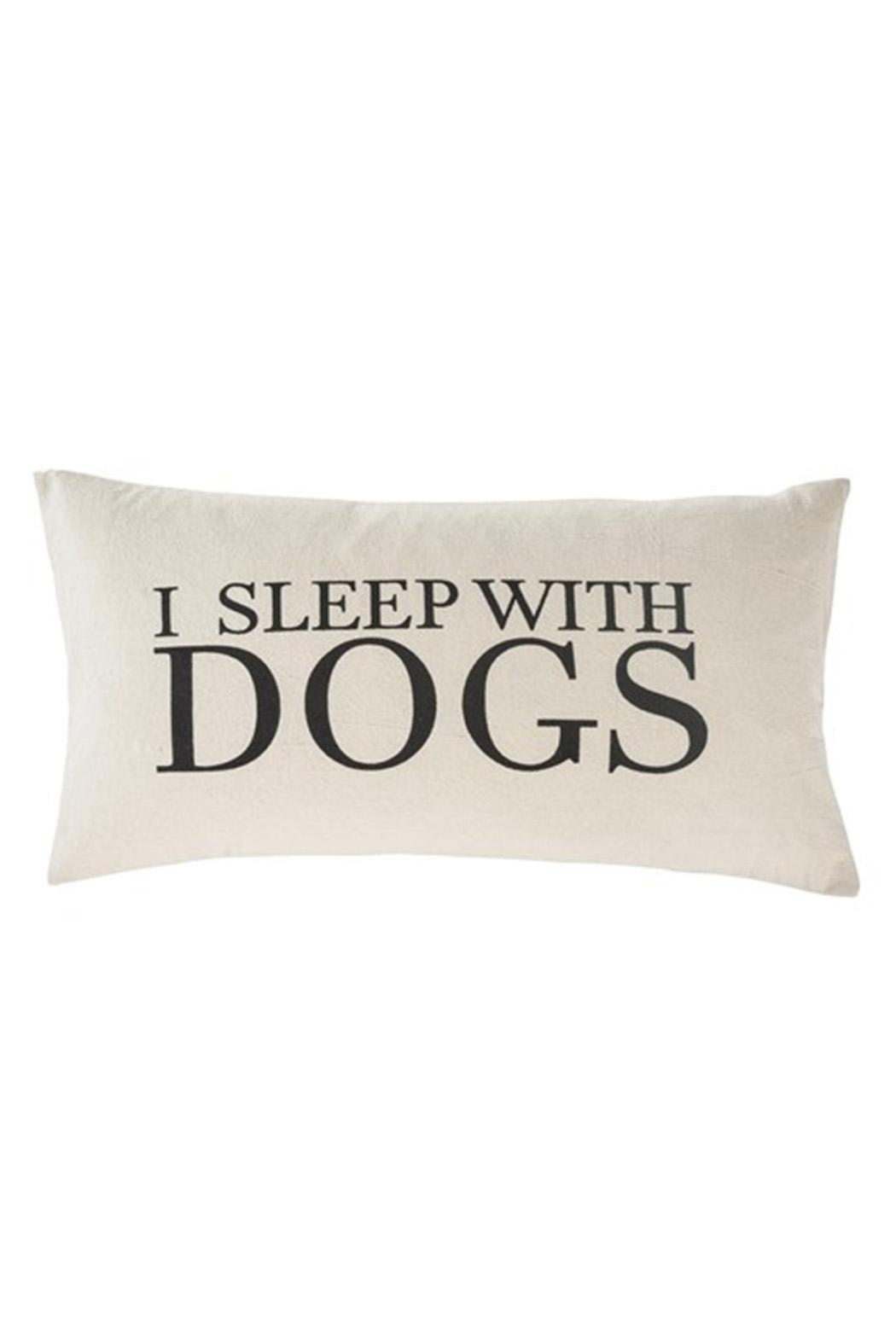 J'Adorn Dogs Cushion - Front Cropped Image