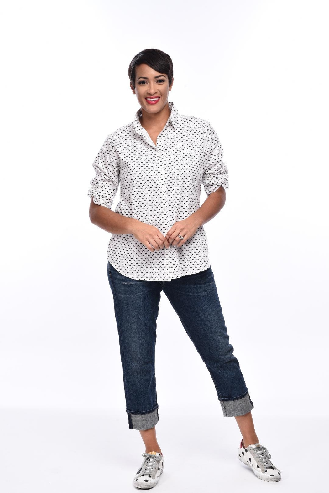 caf807211db Tulip Cotton Flare Shirt from Cambria by New Moon — Shoptiques