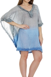 Patricia's Presents Cotton Fringed Caftan - Product Mini Image