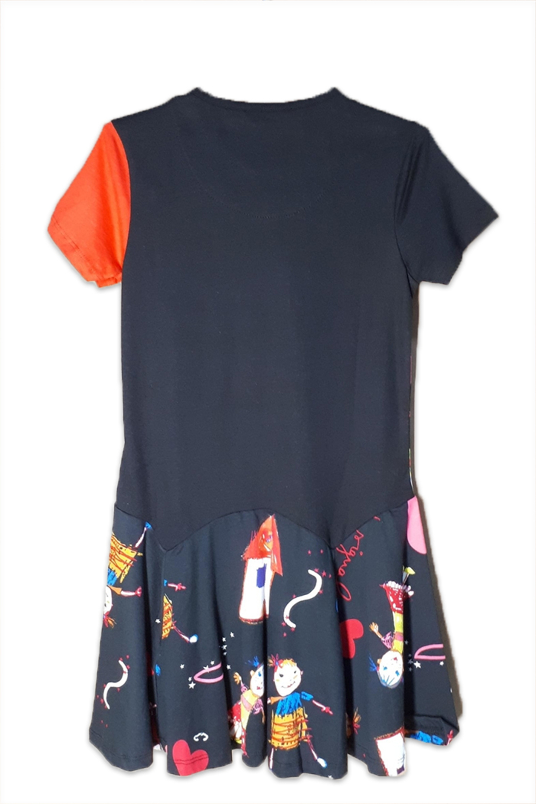 DESIGUAL Cotton Kinshasa Dress - Front Full Image