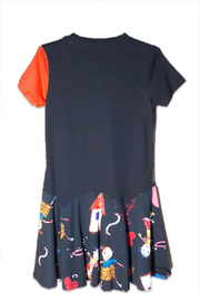 DESIGUAL Cotton Kinshasa Dress - Front full body