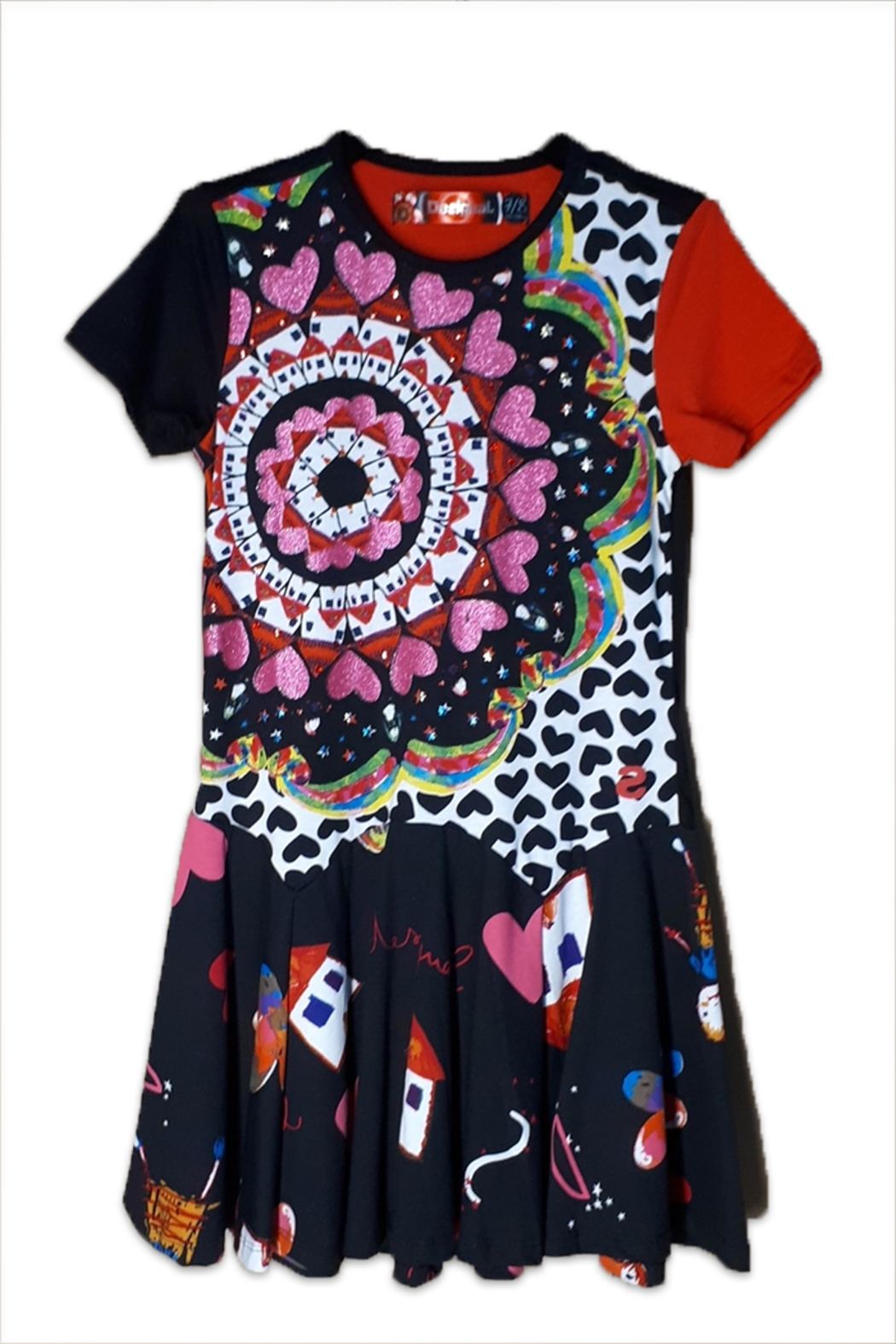 DESIGUAL Cotton Kinshasa Dress - Main Image