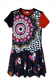DESIGUAL Cotton Kinshasa Dress - Front cropped