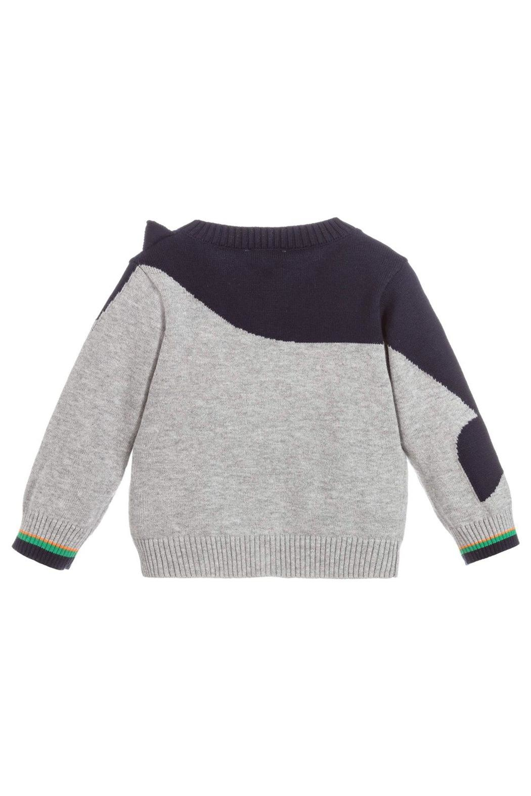 Paul Smith Junior Cotton-Knit 'Tiffen' Cardigan - Front Full Image