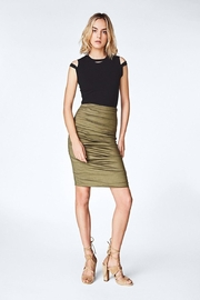 Nicole Miller Cotton Metal Skirt - Product Mini Image