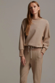Varley Cotton Mock Neck Pull Over - Product Mini Image