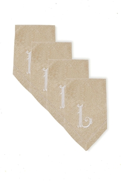 Shoptiques Product: Cotton Monogram Napkin