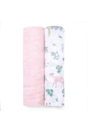 Aden + Anais Cotton Muslin Swaddle 2 Pack - Forest Fantasy - Product Mini Image