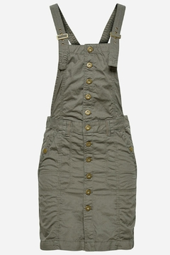 Esprit Cotton Pinafore Dress - Alternate List Image