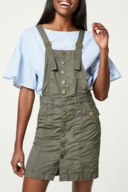 Esprit Cotton Pinafore Dress - Product Mini Image