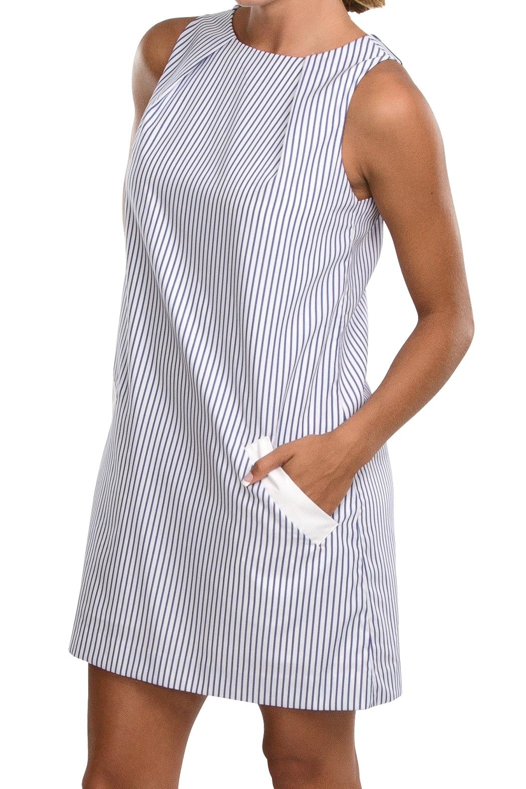 Cortland Park Cotton Pocket Dress - Main Image