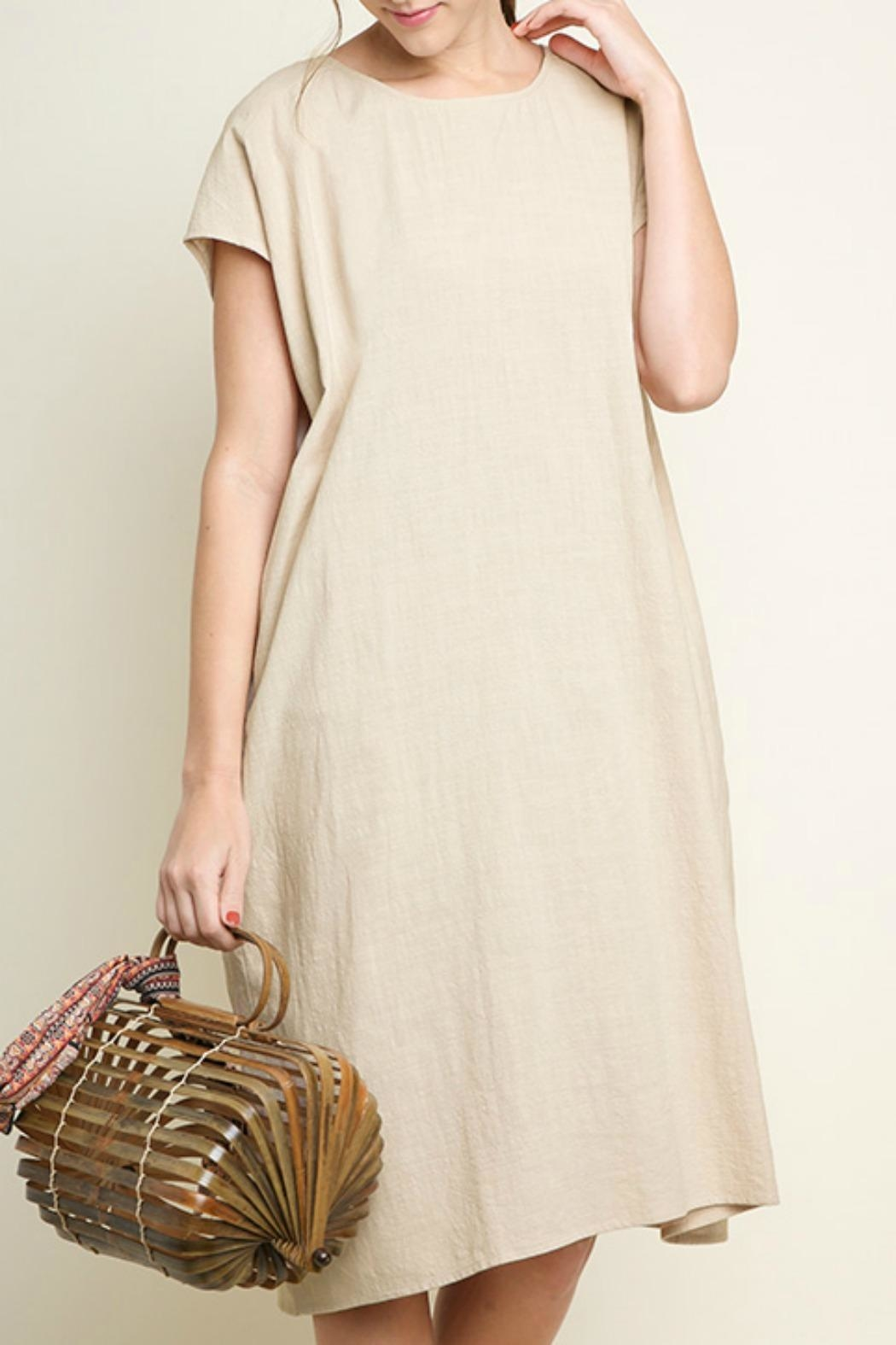Umgee USA Cotton Pocket Dress - Main Image