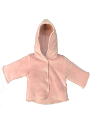 Cotton Pompom Cotton PomPom Velour Hooded Jacket For Baby Boy or Girls | Best Winterwear Jacket - Product Mini Image