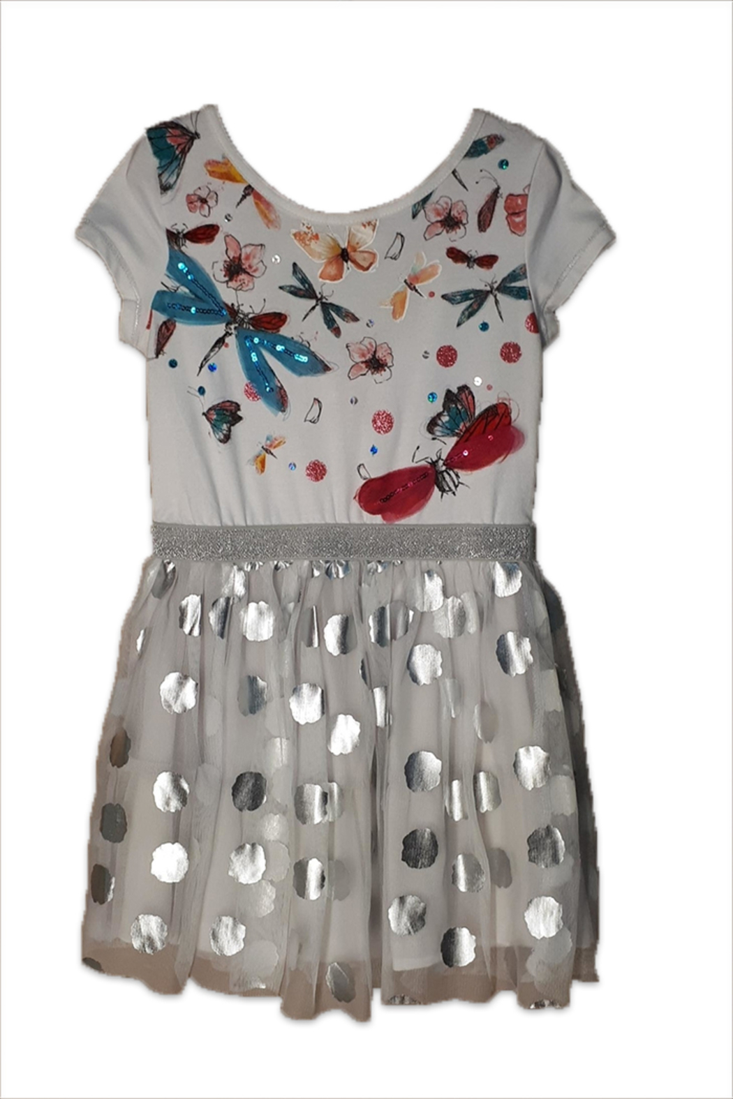DESIGUAL Cotton Porto-Novo Dress - Front Cropped Image