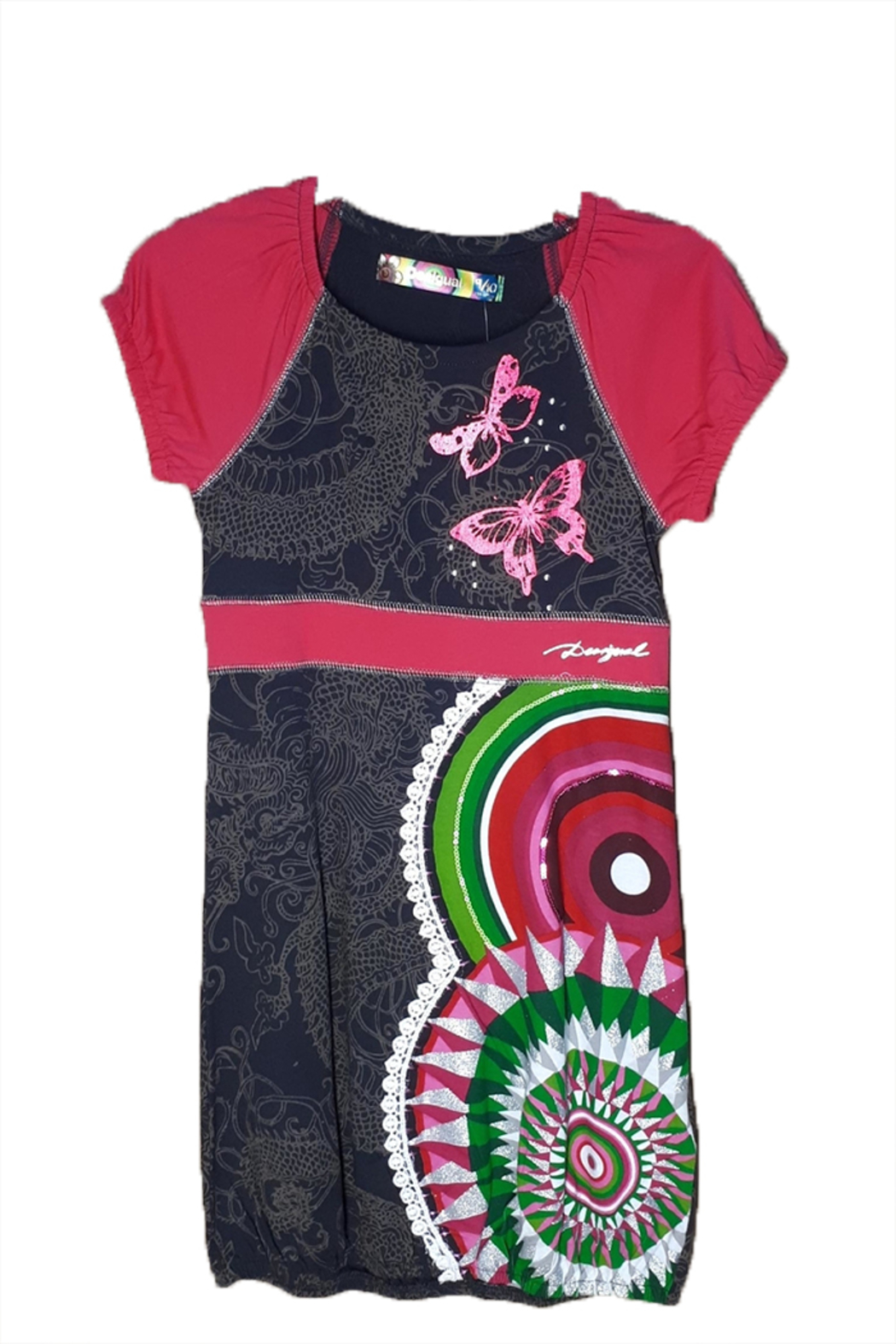 DESIGUAL Cotton Santafe Dress - Main Image