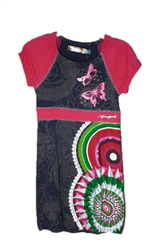 DESIGUAL Cotton Santafe Dress - Front cropped