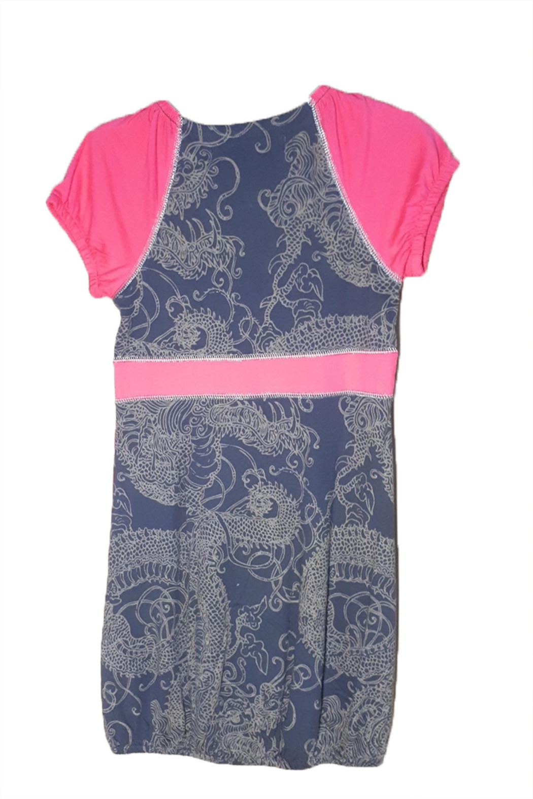 DESIGUAL Cotton Santafe Dress - Front Full Image