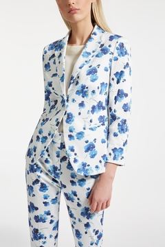 Max Mara Cotton Satin Blazer - Product List Image
