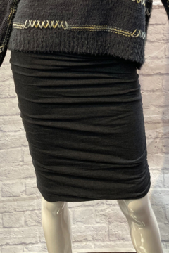 1 Mad Fit Cotton Shirred Pencil Skirt - Product List Image