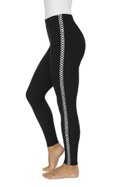 Lysse Cotton Side Braid Legging - Product Mini Image