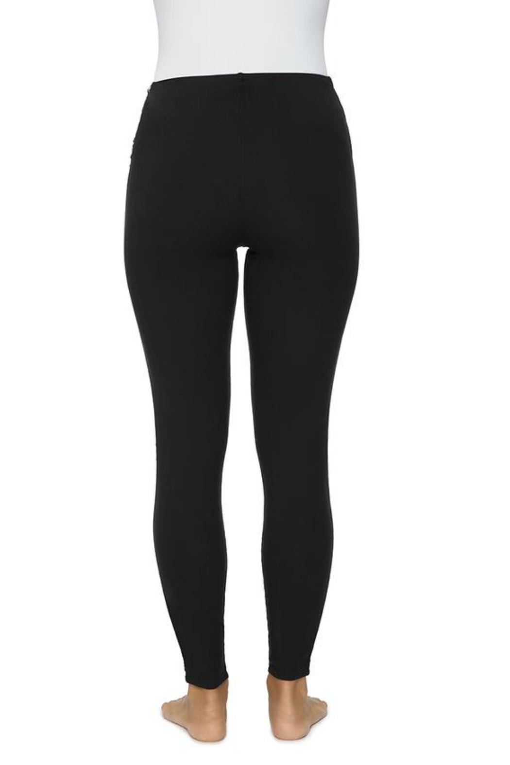 Lysse Cotton Side Braid Legging - Side Cropped Image