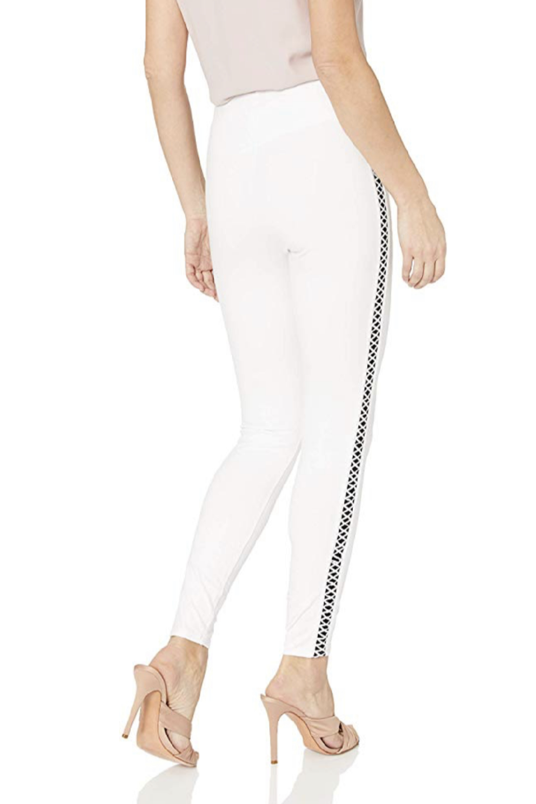 Lysse Cotton Side Braid Legging - Front Cropped Image
