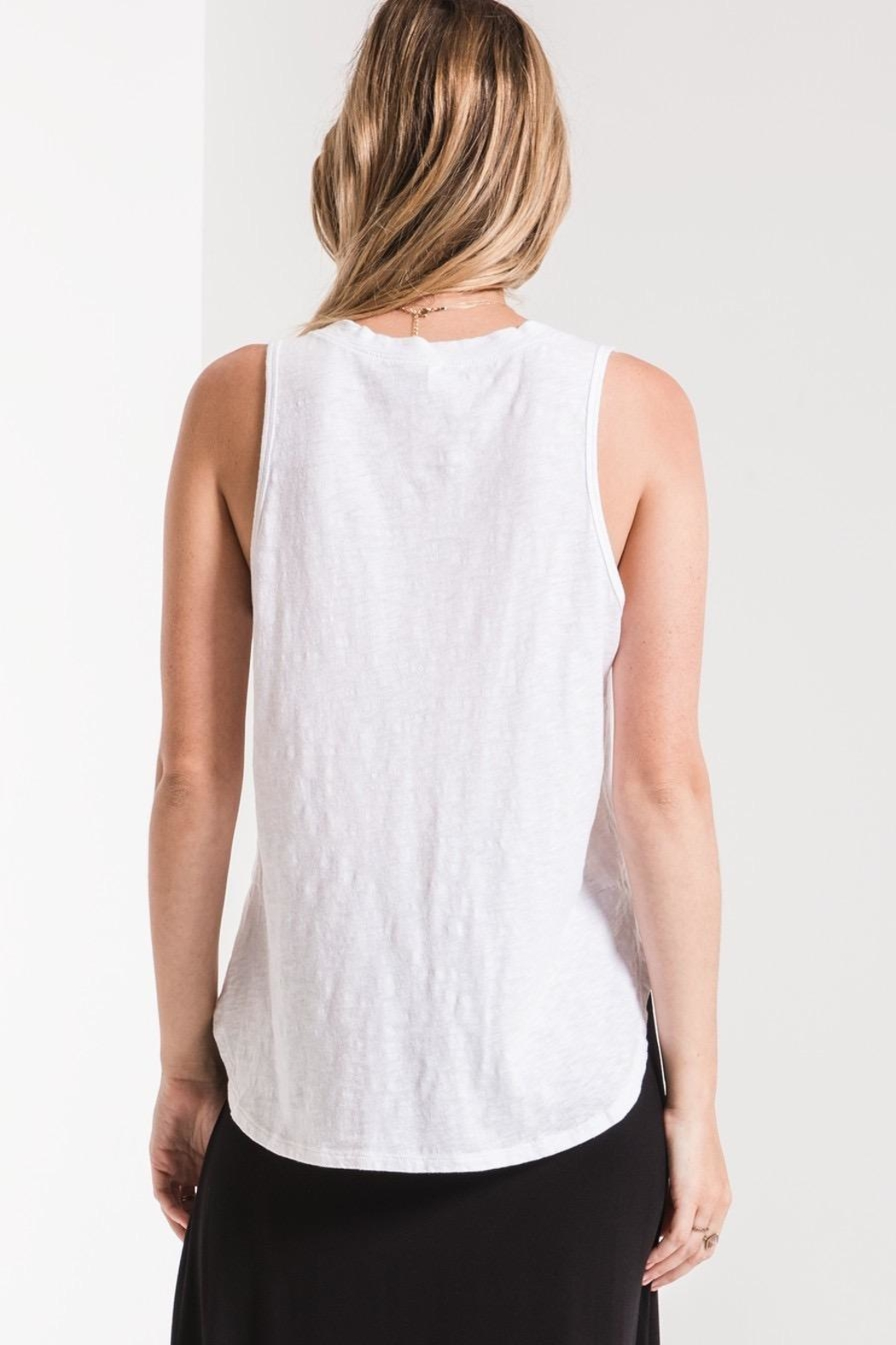 Zsupply Cotton Slub Tank - Side Cropped Image