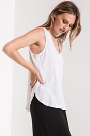 Zsupply Cotton Slub Tank - Back cropped