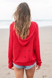 Wooden Ships Cotton Star Hoodie - Side cropped