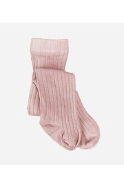 The Blueberry Hill Cotton Tights - Blush - Product Mini Image