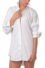 Cortland Park Cotton Tunic Shirt - Product Mini Image