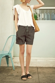 Velvet Cotton Twill Short - Product Mini Image