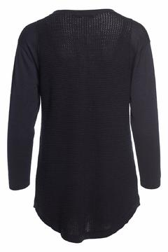 Cotton by Autumn Cashmere Thermal Stitch Henley - Alternate List Image