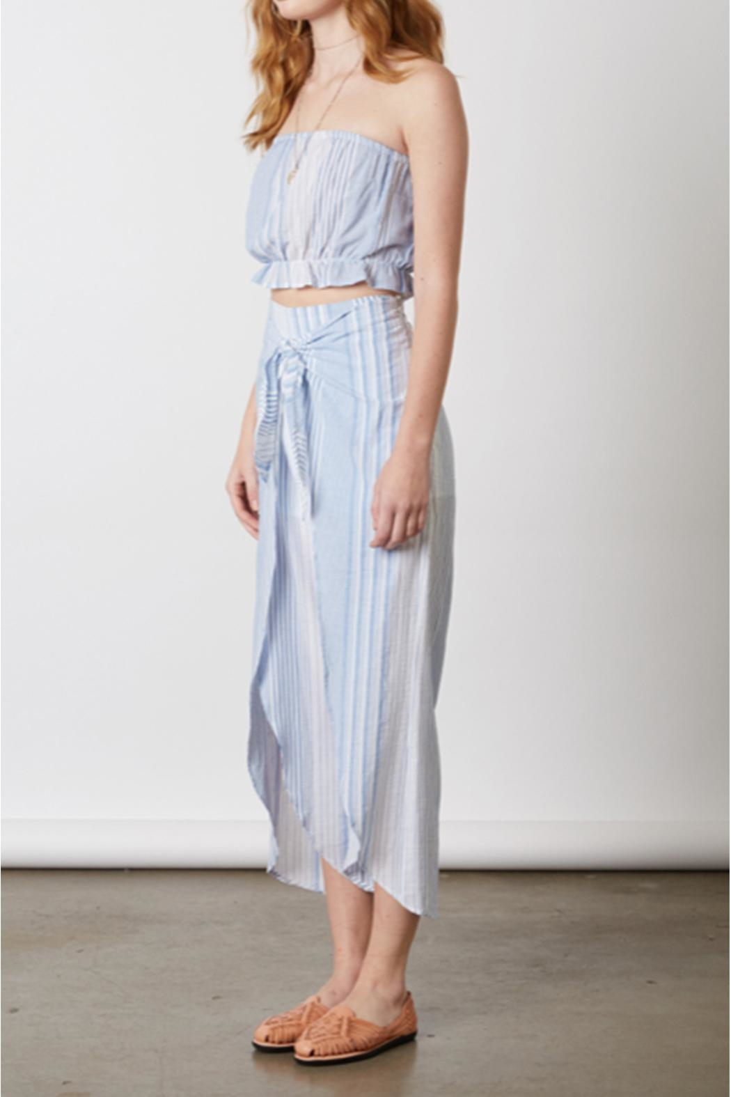 Cotton Candy Chambray Two Piece - Side Cropped Image