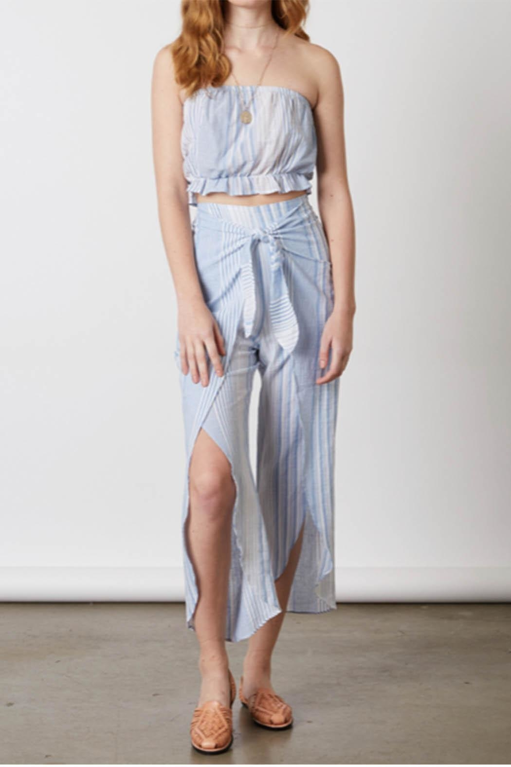Cotton Candy Chambray Two Piece - Main Image