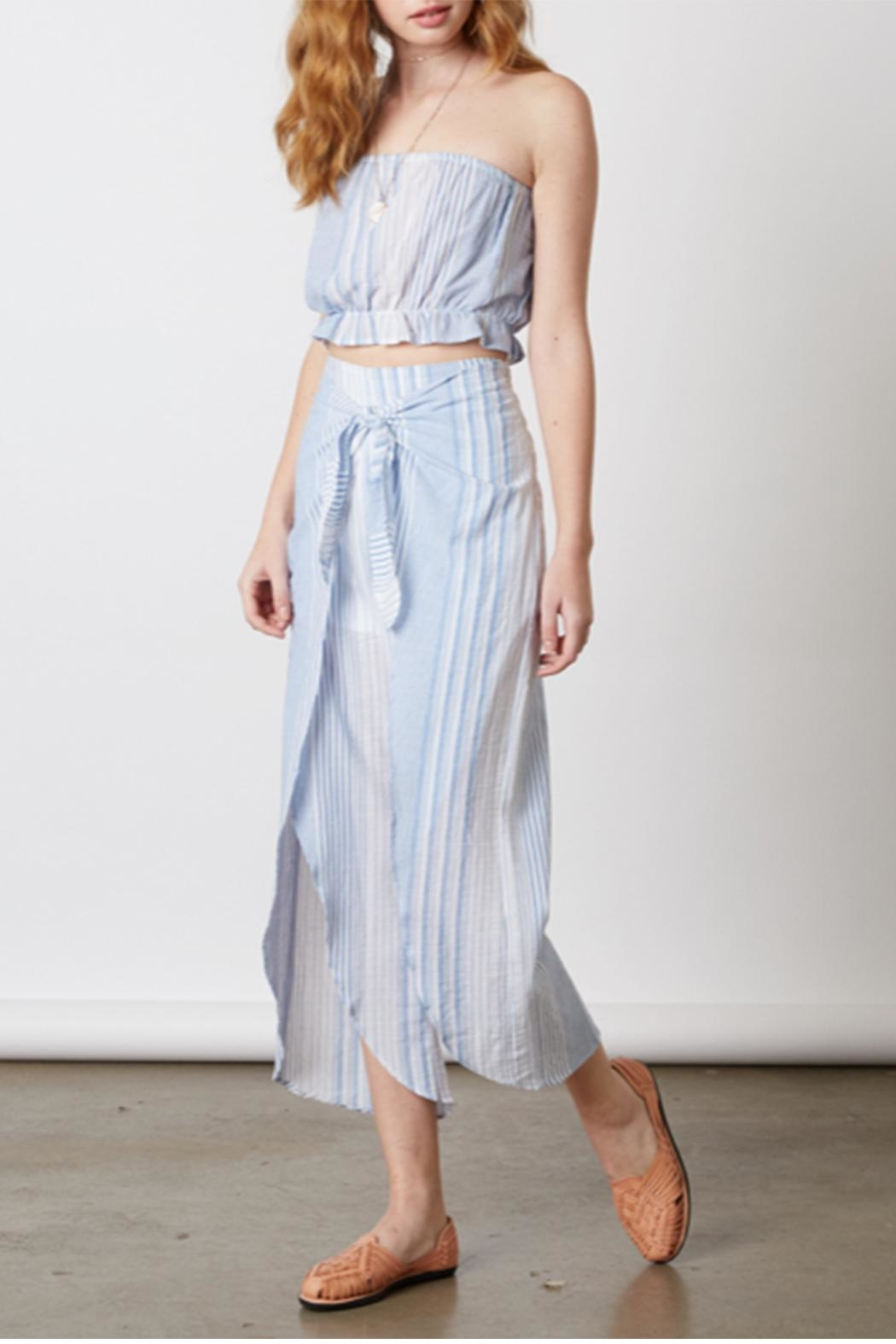 Cotton Candy Chambray Two Piece - Front Full Image